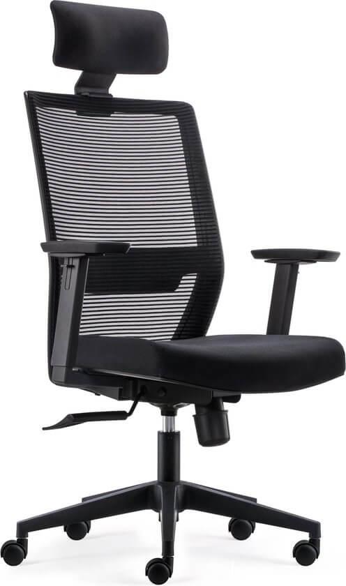 BenS 851H-Eco-2 bureaustoel met hoofdsteun